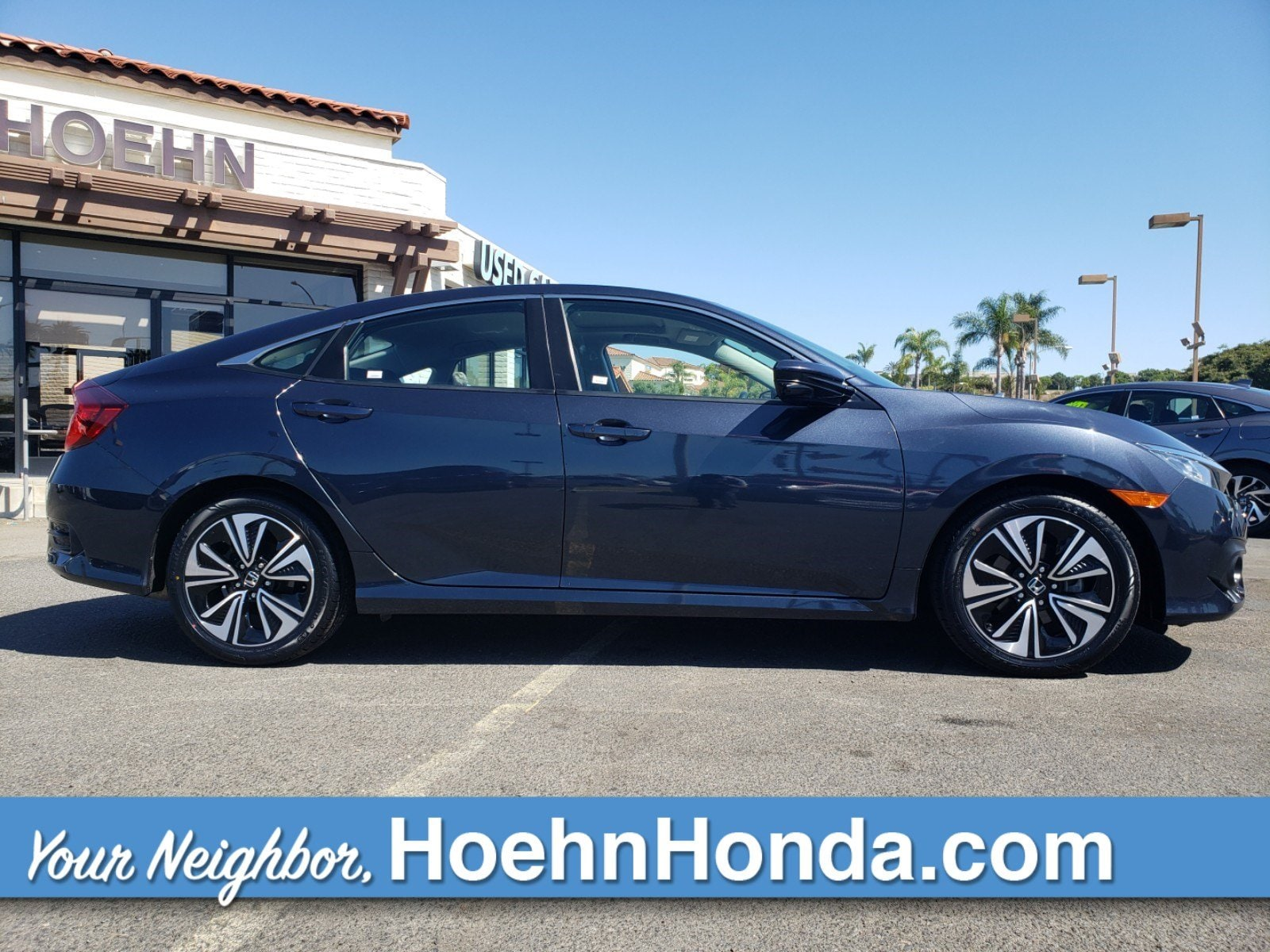 Pre-Owned 2017 Honda Civic Sedan EX-L