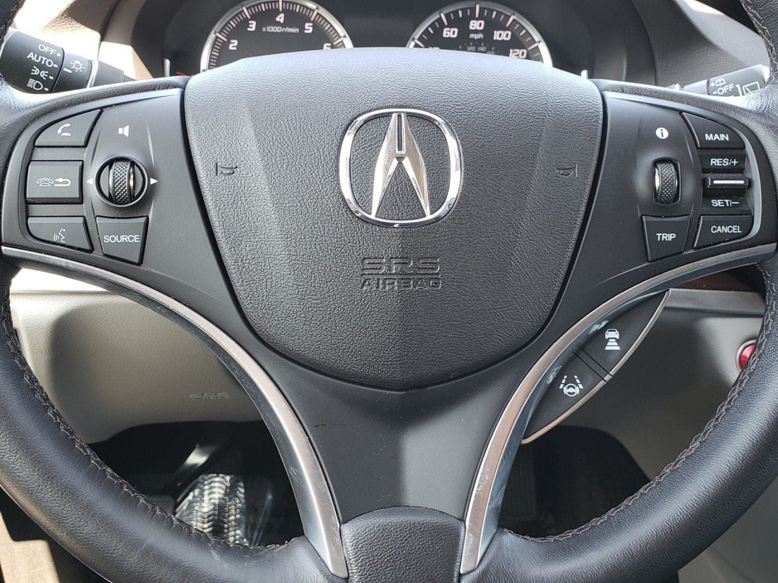 Pre-Owned 2016 Acura MDX MDX SH-AWD with Advance
