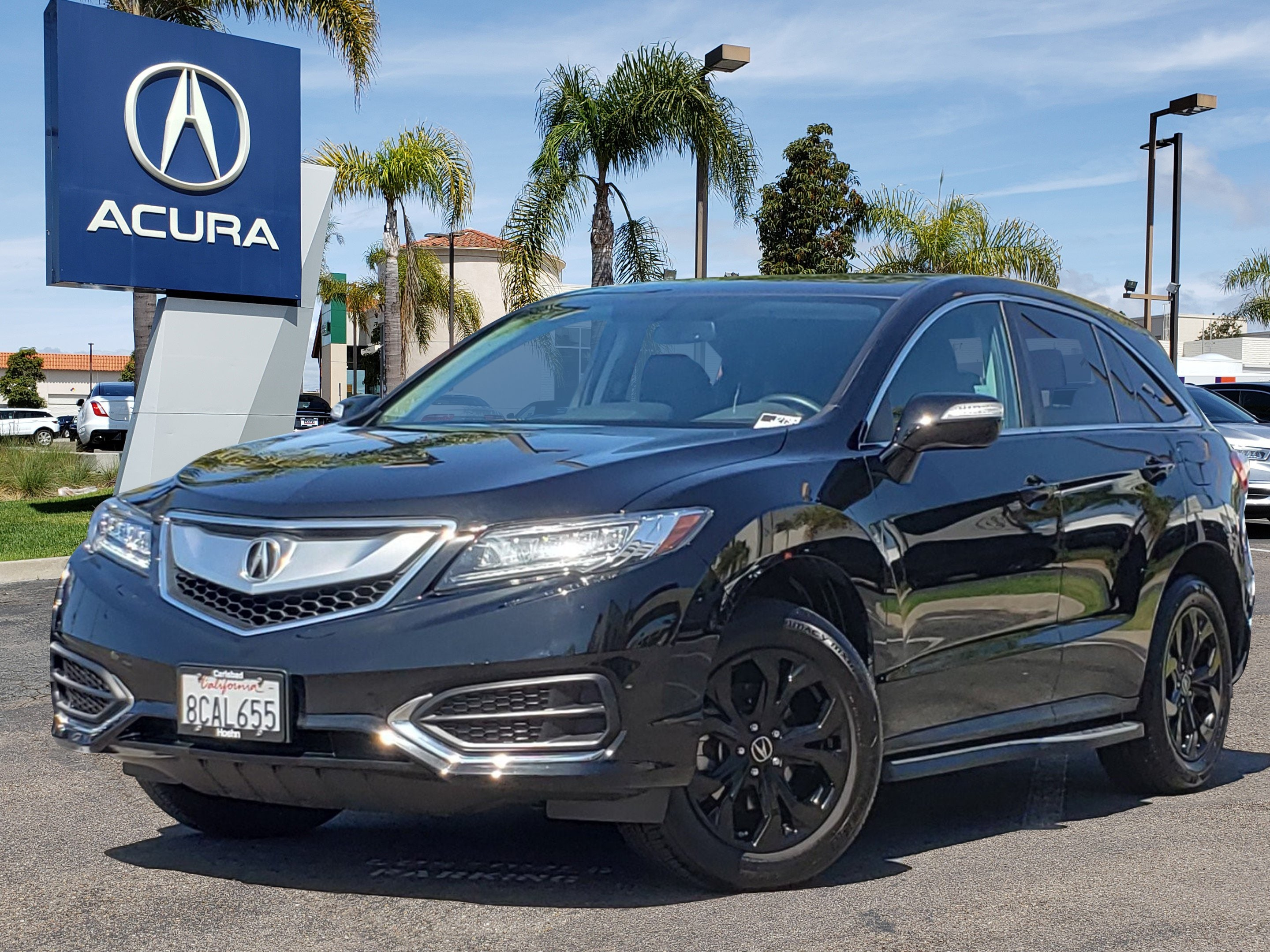 Pre-Owned 2018 Acura RDX V6 with Technology Package