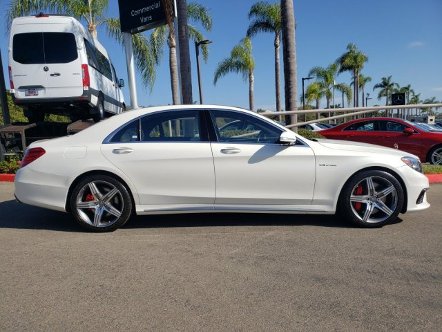 Pre-Owned 2017 Mercedes-Benz S-Class AMG® S 63