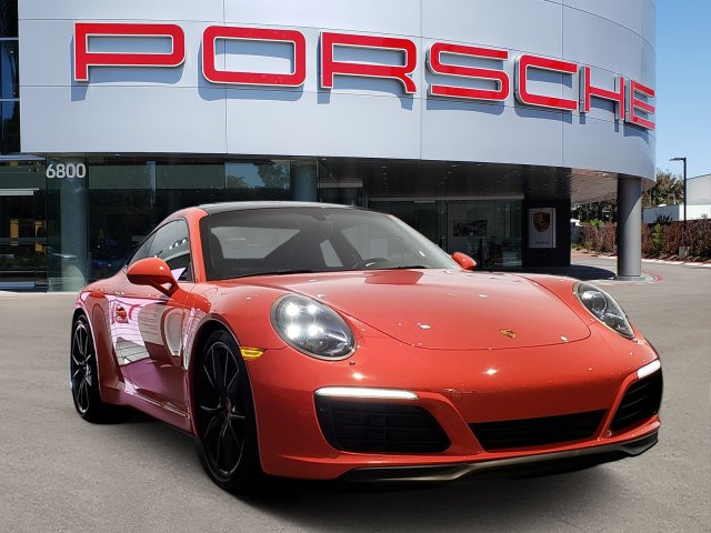 Certified Pre-Owned 2017 Porsche CARRERA S