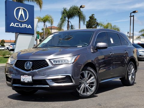 Pre-Owned 2017 Acura MDX V6 with Technology Package