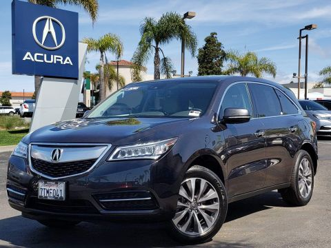 Pre-Owned 2016 Acura MDX 3.5L w/Technology