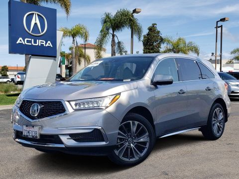 Pre-Owned 2017 Acura MDX V6 SH-AWD with Technology Package