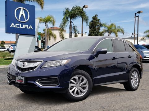 Pre-Owned 2017 Acura RDX V6 AWD with Technology Package