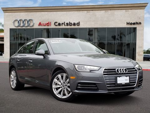 Pre-Owned 2017 Audi A4 2.0T FWD 2.0T Premium