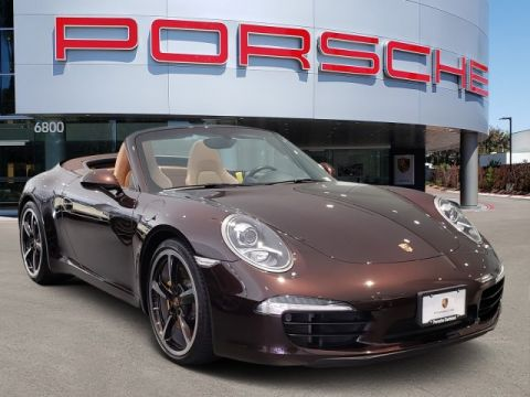 Certified Pre-Owned 2015 Porsche CARR S CAB