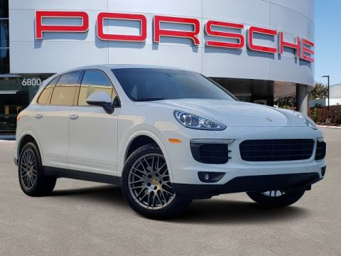 Certified Pre-Owned 2017 Porsche CAYENNE PLATINU
